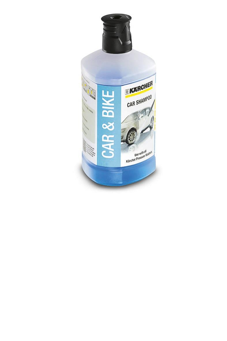 Bilschampo Kärcher Car shampoo 3in1 Nordic 1L