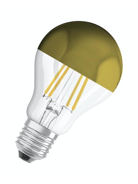 LED-LAMPPU OSRAM STAR PEILI KULTAINEN 700LM 827 E27