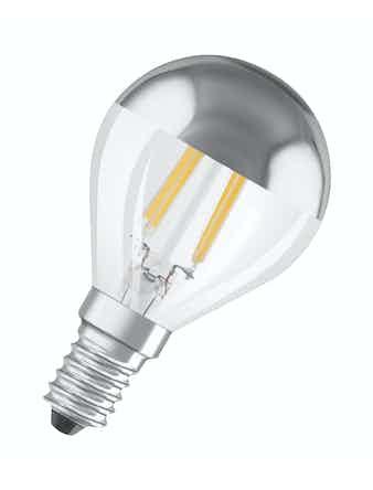 led lampa osram clp34 e14 klot filament 4w ej dimbar mirror k. Black Bedroom Furniture Sets. Home Design Ideas