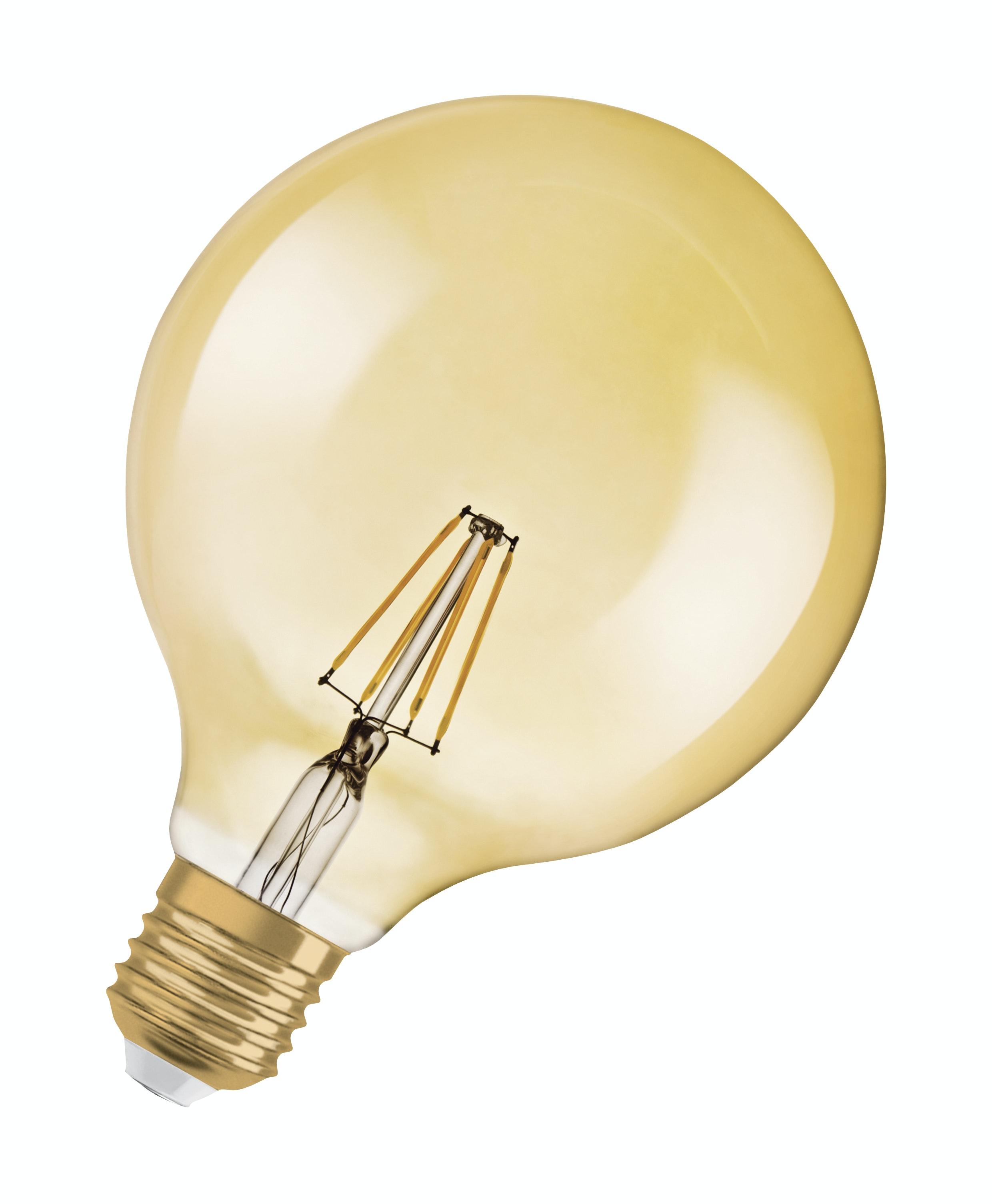 Led-Lampa Osram Vintage 1906 E27 Globe Filament 824 7W Ej Dimbar Gold