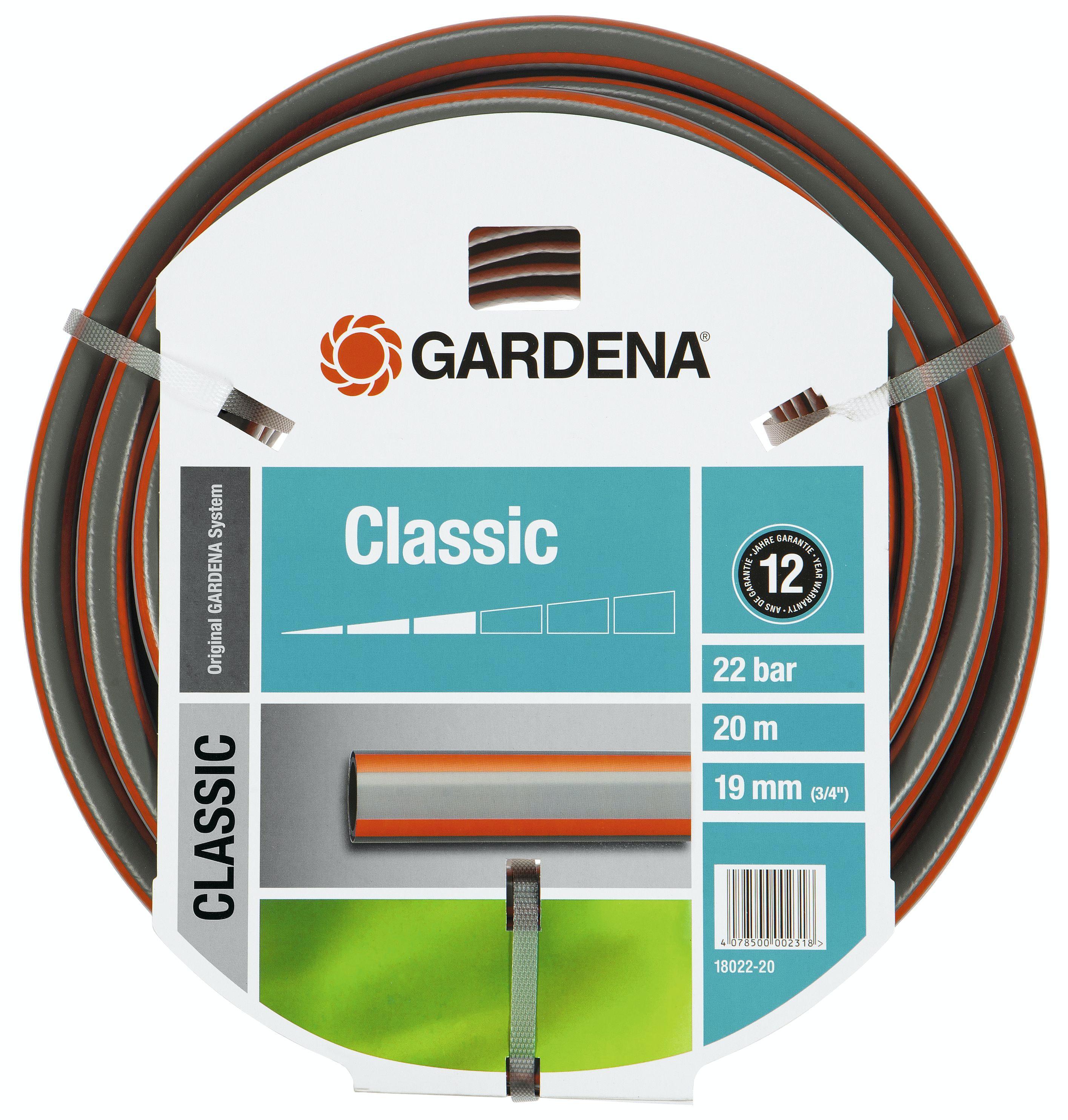 Slang Gardena Classic (3/4In) 20m W/O