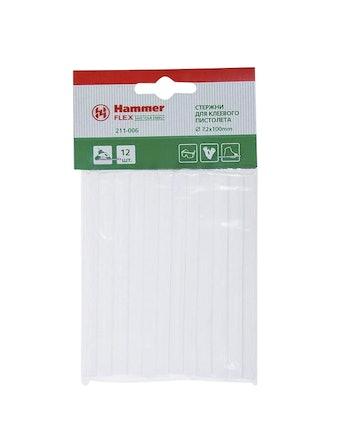 Набор клеевых стержней Hammer Flex, 7,2 мм