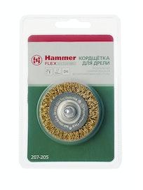 Кордщетка для дрели радиальная Hammer, 50 мм, D6