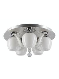 Люстра MW-Light Ивонна 459010305, 5 х Е27 х 40 Вт
