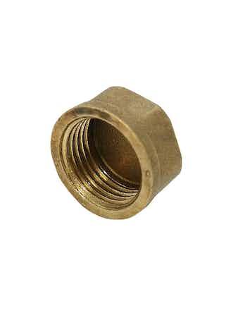 Заглушка в трубу PROF 1 нр никель