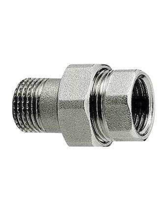 Сгон PROF 1/2 х 100 мм никель