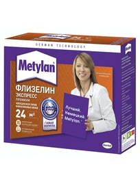 Клей для обоев на основе флизелина Metylan Флизелин Экспресс Премиум, 200 г