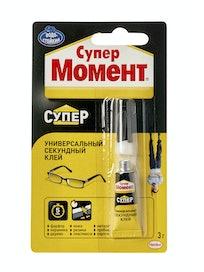 Клей Супер МОМЕНТ блистер, шоу-бокс, 3 г