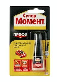Клей Супер МОМЕНТ Профи блистер, 5 г