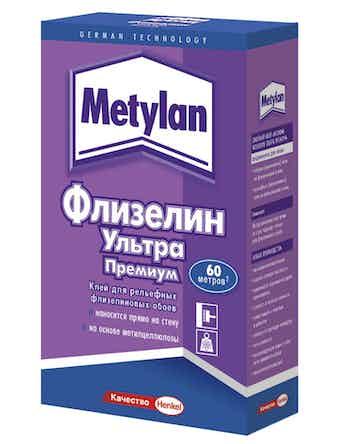 Обойный клей Metylan Флизелин Премиум, 500 г