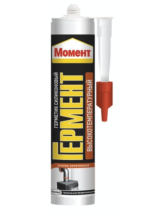 Герметик Гермент высокотемпературный, красно-коричневый, 300 мл