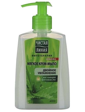 Крем-мыло жидкое Чистая Линия 250 мл алоэ