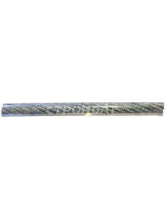 Трос стальной в оболочке PVC 2/4мм