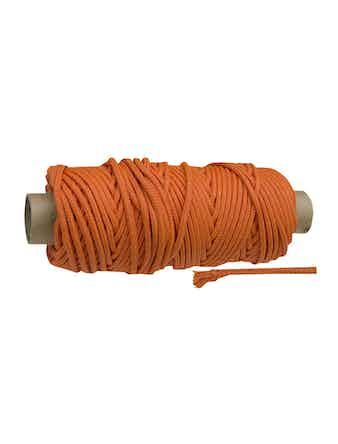 Веревка плет ППм 6мм цвет.