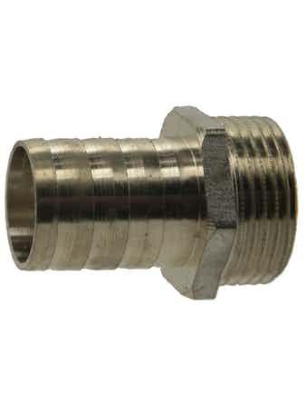 Штуцер НР 1-25 мм никель