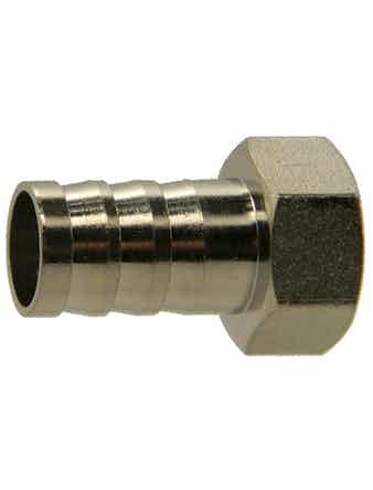 Штуцер ВР 1/2-18 мм никель