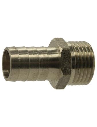 Штуцер НР 1/2-20 мм никель