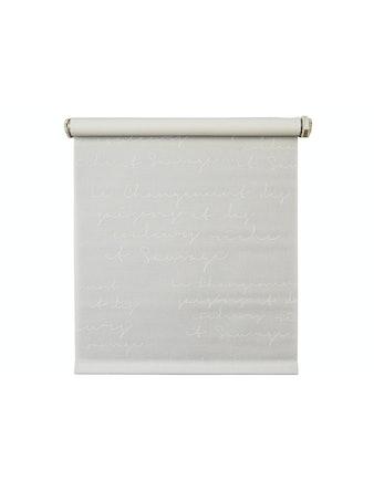 Рулонная штора Письмо белая, 120 х 160 см