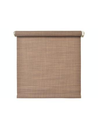 Рулонная штора Шантунг коричневый, 80 х 160 см