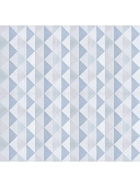Миниролл Треугольники, 80 х 160 см, бирюзовый
