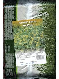 Семена Горчица белая Радуга, 1 кг