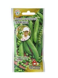 Семена Горох сахарный Первенец Н8, 10 г