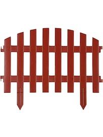 Декоративный садовый забор, 300 х 44 см