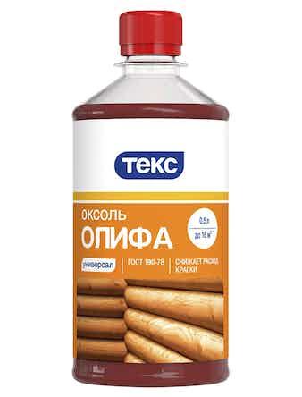 Олифа Оксоль 0.5л/0.4кг ТЕКС