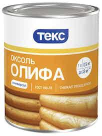 Олифа Оксоль 1л/0.75кг ТЕКС мет. банка