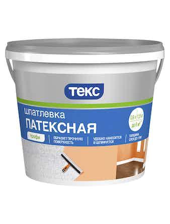 Шпатлевка латексная Профи 1,5кг ТЕКС