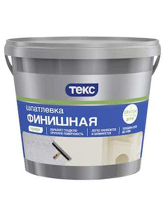 Шпатлевка Финишная выравнив. 1,5кг ТЕКС
