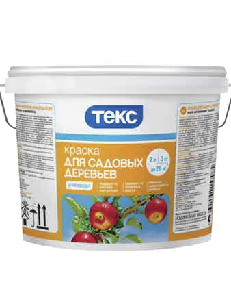 Краска для садовых деревьев Текс, 3 кг