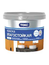 Краска водно-дисперсионная влагостойкая Текс Профи, 9 л