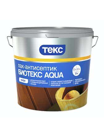 Лак-антисептик Биотекс AQUA Орех 2,7л