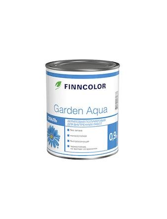 Эмаль акрил.Finncolor Garden Aqua А 0,9л