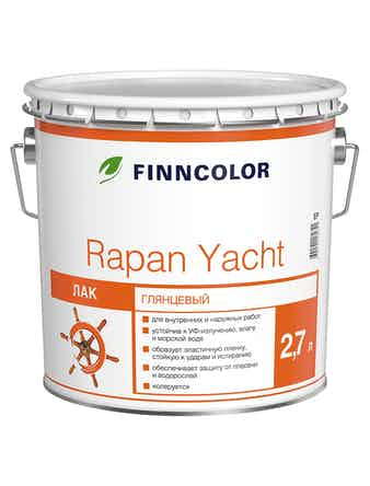 Лак алк-ур. Rapan Yacht EP гл.2,7л Finnc