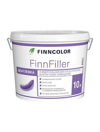 Шпатлевка финишная Finncolor Finnfiller, 10 л
