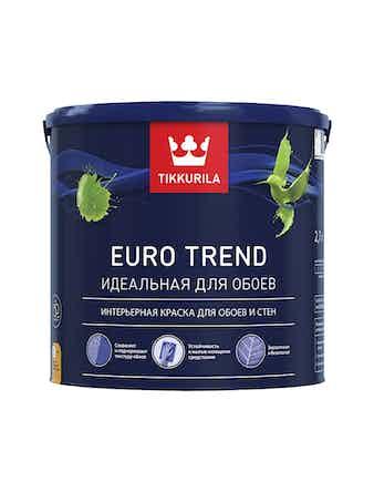 Краска Tikkurila Euro Trend A, матовая, 2,7 л