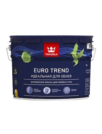 Краска Tikkurila Euro Trend A, матовая, 9 л