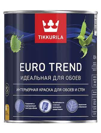 Краска Tikkurila Euro Trend C, матовая, 0,9 л