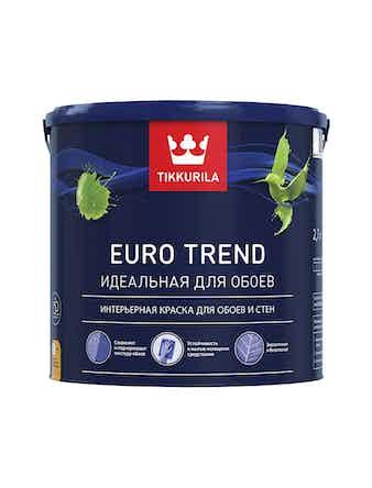Краска Tikkurila Euro Trend C, матовая, 2,7 л