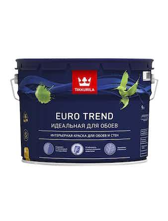 Краска Tikkurila Euro Trend C, матовая, 9 л