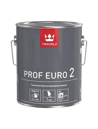 Краска Tikkurila Prof Euro2 VVA, матовая, 2,7 л