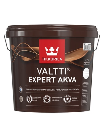 Антисептик Tikkurila Valtti Expert Akva Тик 2,7 л