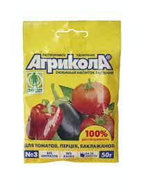 Удобрение Агрикола №3, томаты, 50 г