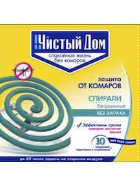 Спирали от комаров 10 шт в упаковке