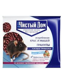 Защита от грызунов в гранулах Чистый дом 03-348, орех, 100 г