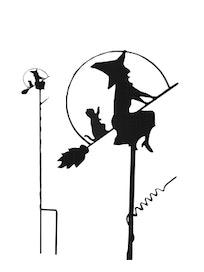 Поддержка для растений Ведьмочка, 72 см