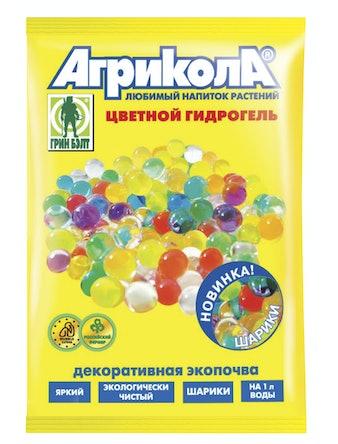 Гидрогель-шарики Агрикола, цветной, 20 г