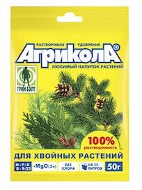 Удобрение для хвойных растений Агрикола, 50 г